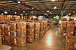 Expansive modern warehouse and processing facility.